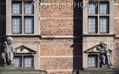 A castle facade.