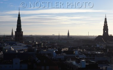 The view from the top of the Round Tower
