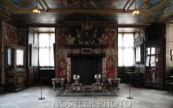 A Royal fireplace.