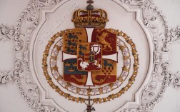 The Coat of arms of Denmark is located on the ceiling of the Long Hall.