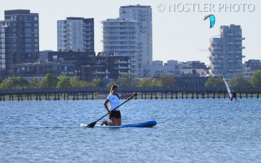 Padling at Amager Strandpark