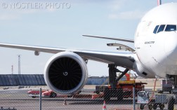 One BIG engine on the Boeing B777F