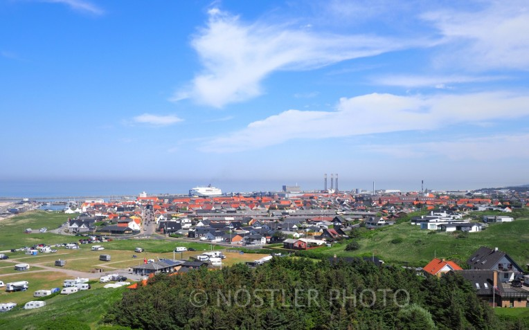 The town of Hirtshals